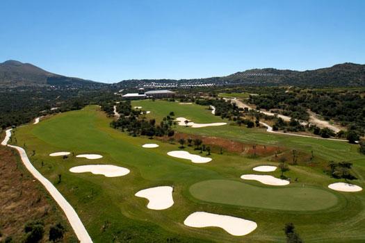 Panorámica Campo de Golf